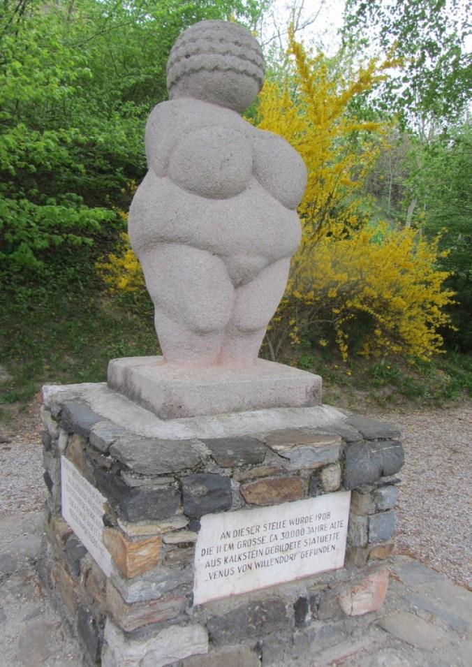 Replica of the Venus of Willendorf