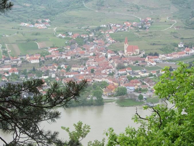 View to Weißenkirchen