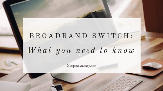 Save money on broadband