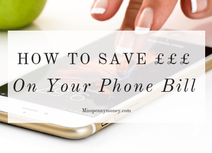 Save money on your phone contract