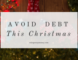 Have a debt-free Christmas
