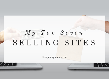 My top seven selling sites for making money