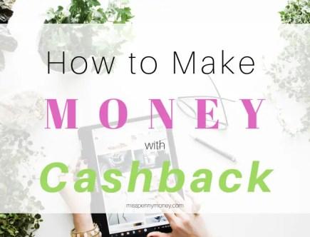 Make money with cashback