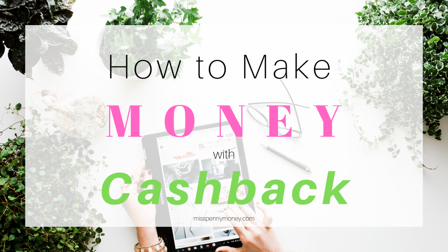 Make money with cashback