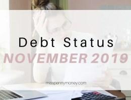 Debt Status November 2019