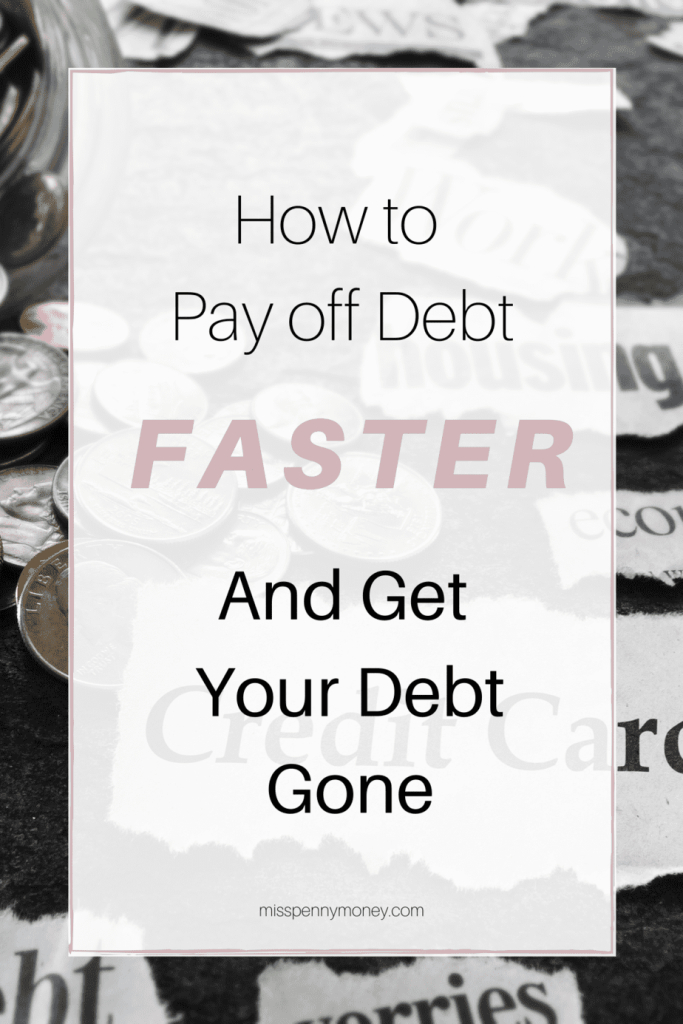 Ways to Pay off Debt Faster