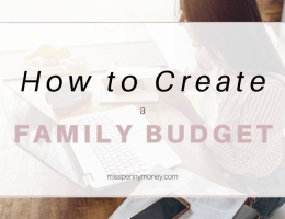 How to Make a Family Budget