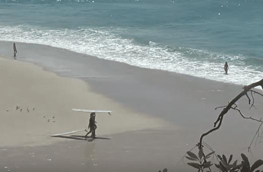 Weekday Watch: Tan Madonna Surf Film