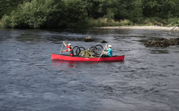 Hazzard Racing Bike and Boat Adventure (Disaster?)