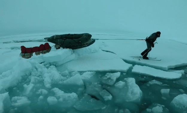 Arctic Ocean Crossing Unassisted: Mike Horn and Børge Ousland video