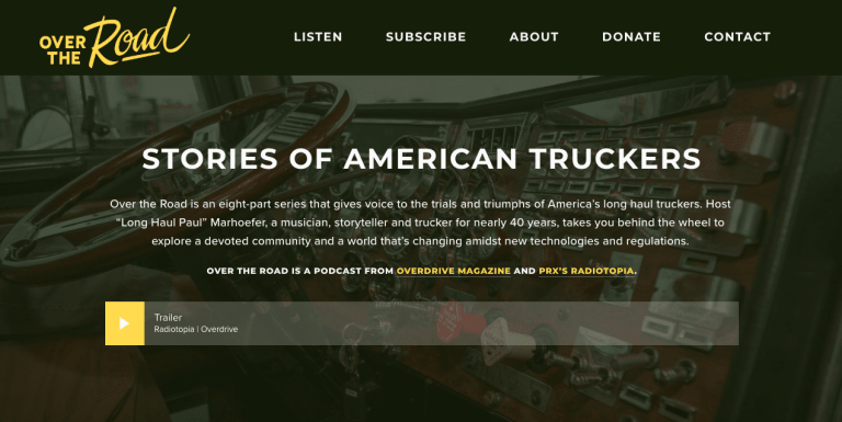 Best podcast about trucking