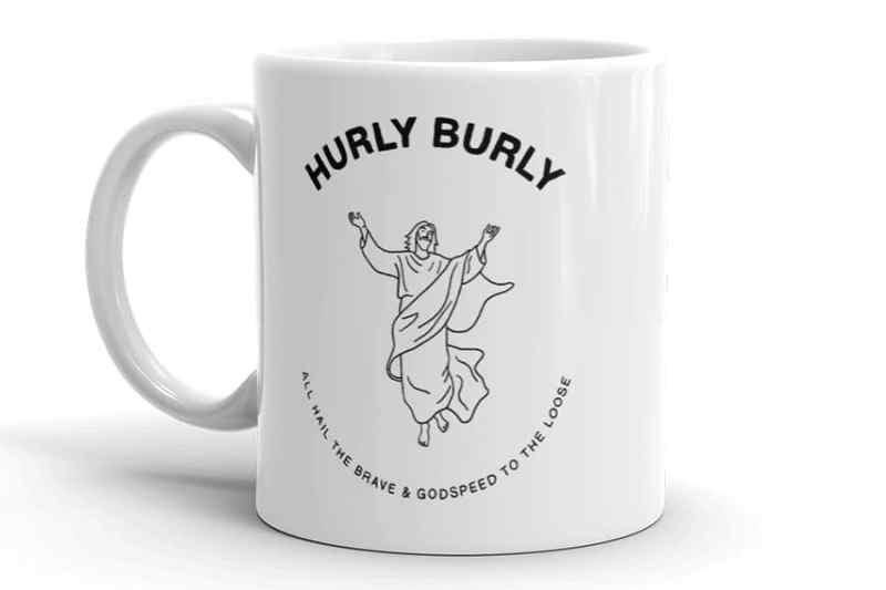 Hurly Burly mug