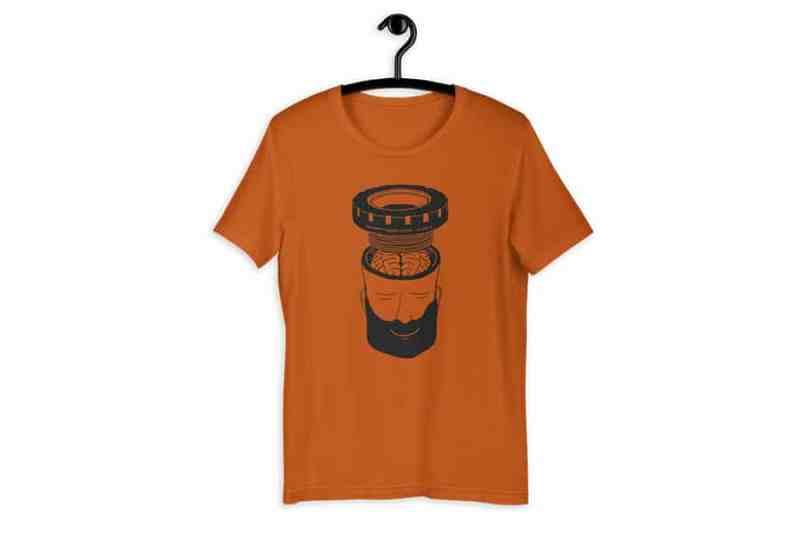 bottom bracket head tshirt Misspent Summers 1