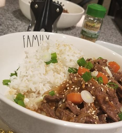 InstantPot Korean Bulgogi Recipe