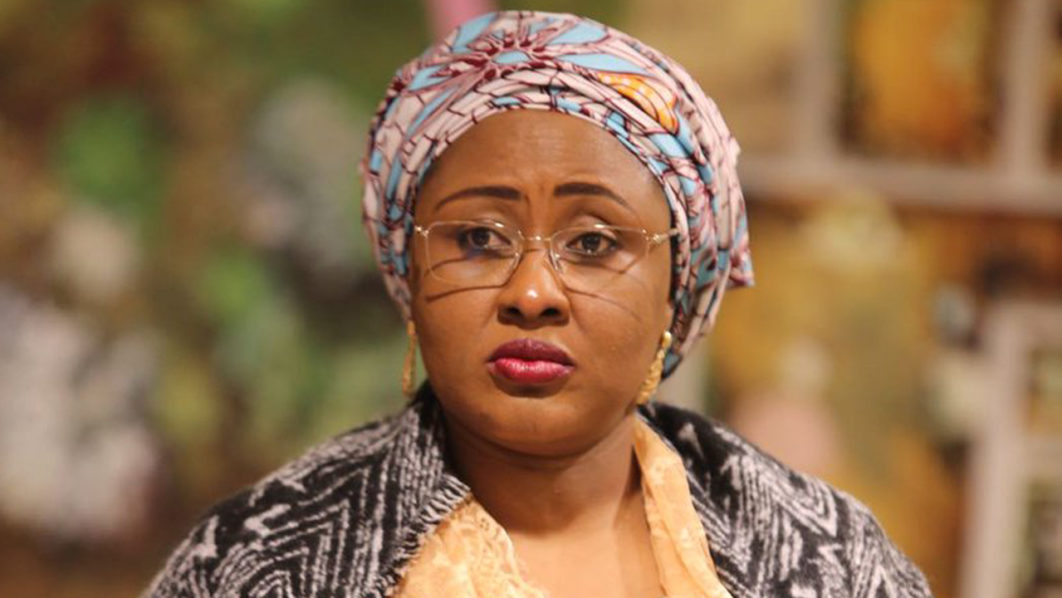 There are some powerful men who are not allowing my husband do his job well – Aisha Buhari