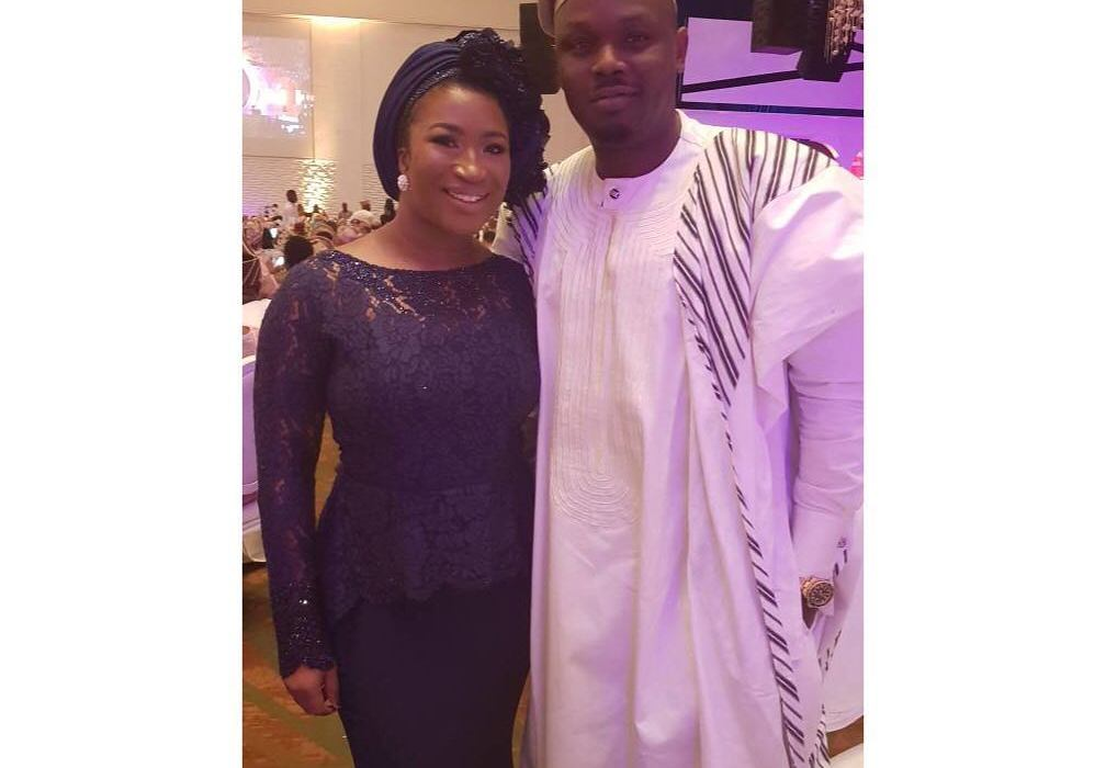 Dr Sid and wife Simi Esiri step out for Dangote's daughter's wedding