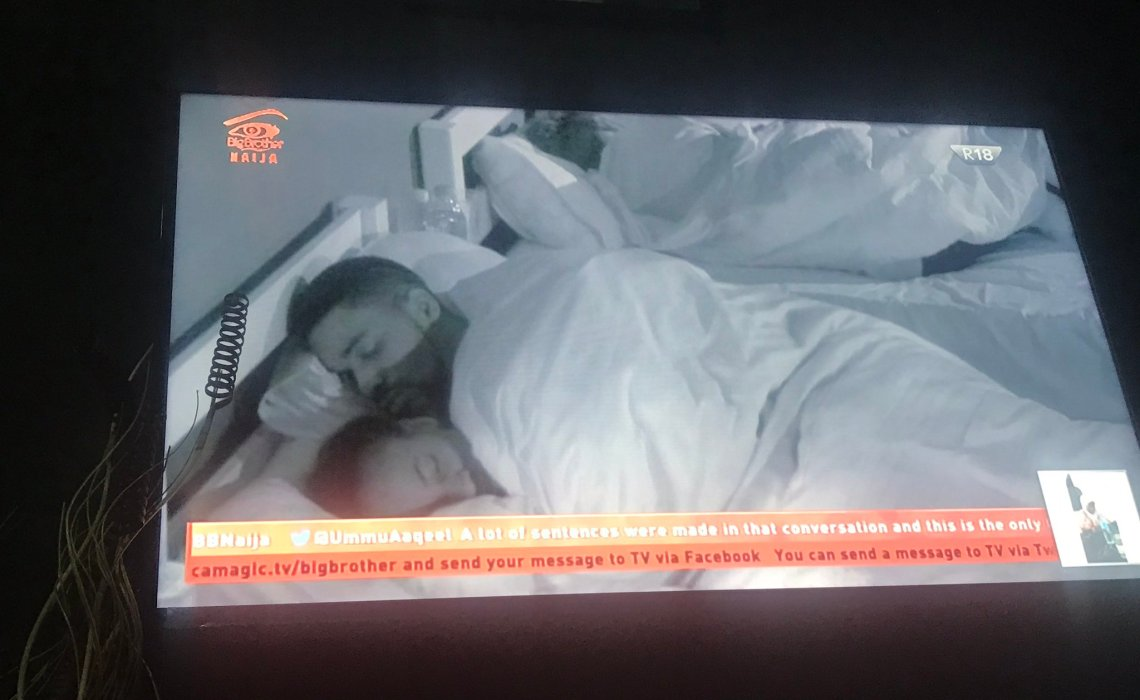 #BBNaija Cee-C lashes out at Tobi after he cuddled Anto to sleep