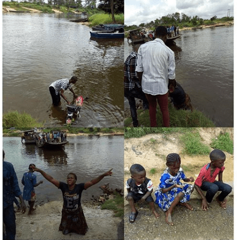 Family of 5 escapes drowning in Delta state