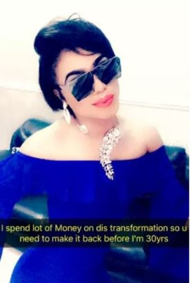 Checkout what Bobrisky has acquired since being with 'bae'