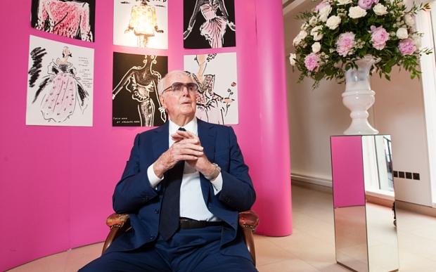 Fashion designer, Hubert De Givenchy, dies in his sleep