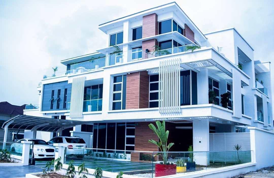 Timaya shares photos of his magnificient mansion