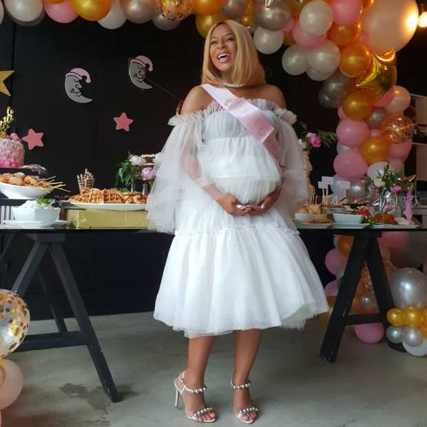 Sa Actress Jessica Nkosis Baby Shower Is Just Beautiful