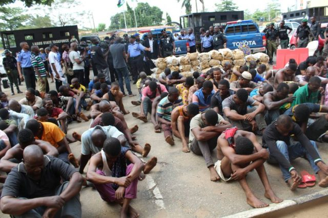 Police nabs 40 female cultists during initiation
