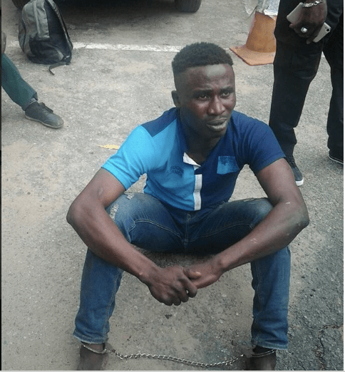 Notorious robber finally arrested after charms failed
