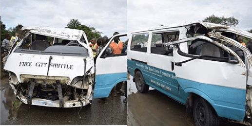 Bus plunges into river
