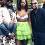 Tiwa Savage Suffers Wardrobe malfunction