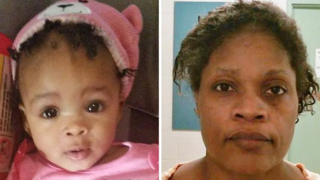 Grandmother stabs toddler,bakes her in oven
