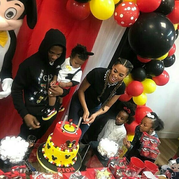 Photos from Wizkid's son, Zion's Mickey mouse themed birthday party