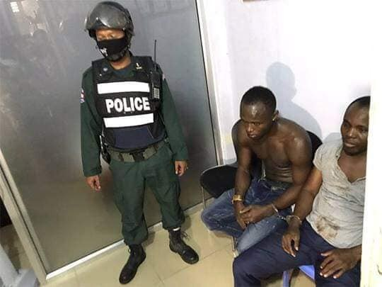 2 Nigerian men facing deportation for street fighting in Cambodia