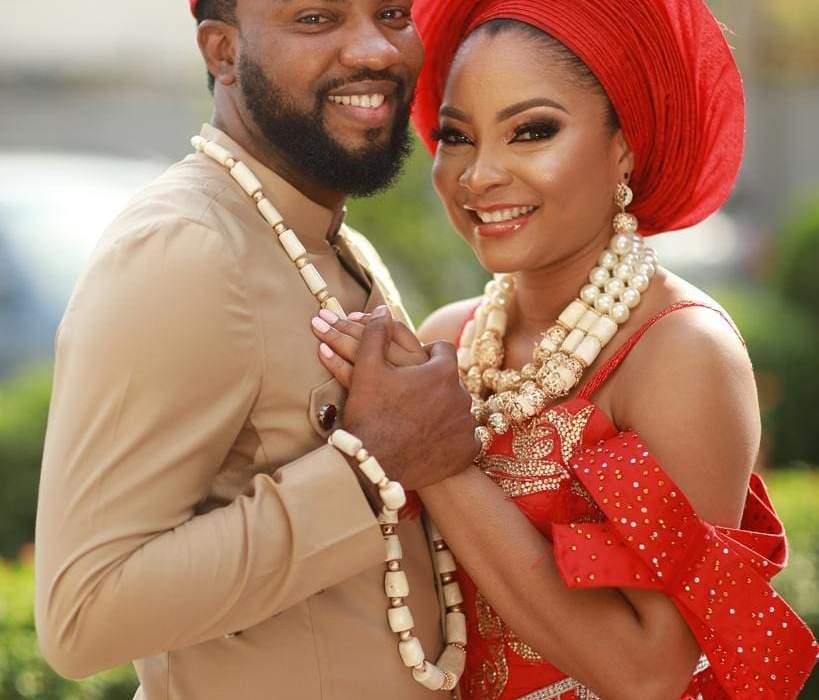 Photos from Linda Ejiofor and Ibrahim Sulieman's traditional wedding
