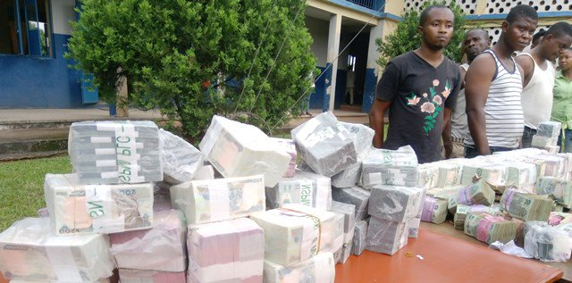 Police recover N12.5m stashed in warehouses,trail bankers