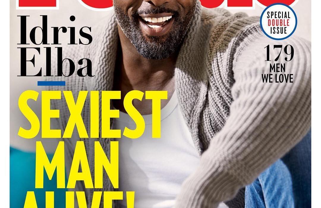 Idis Elba named People's Sexiest Man Alive 2018
