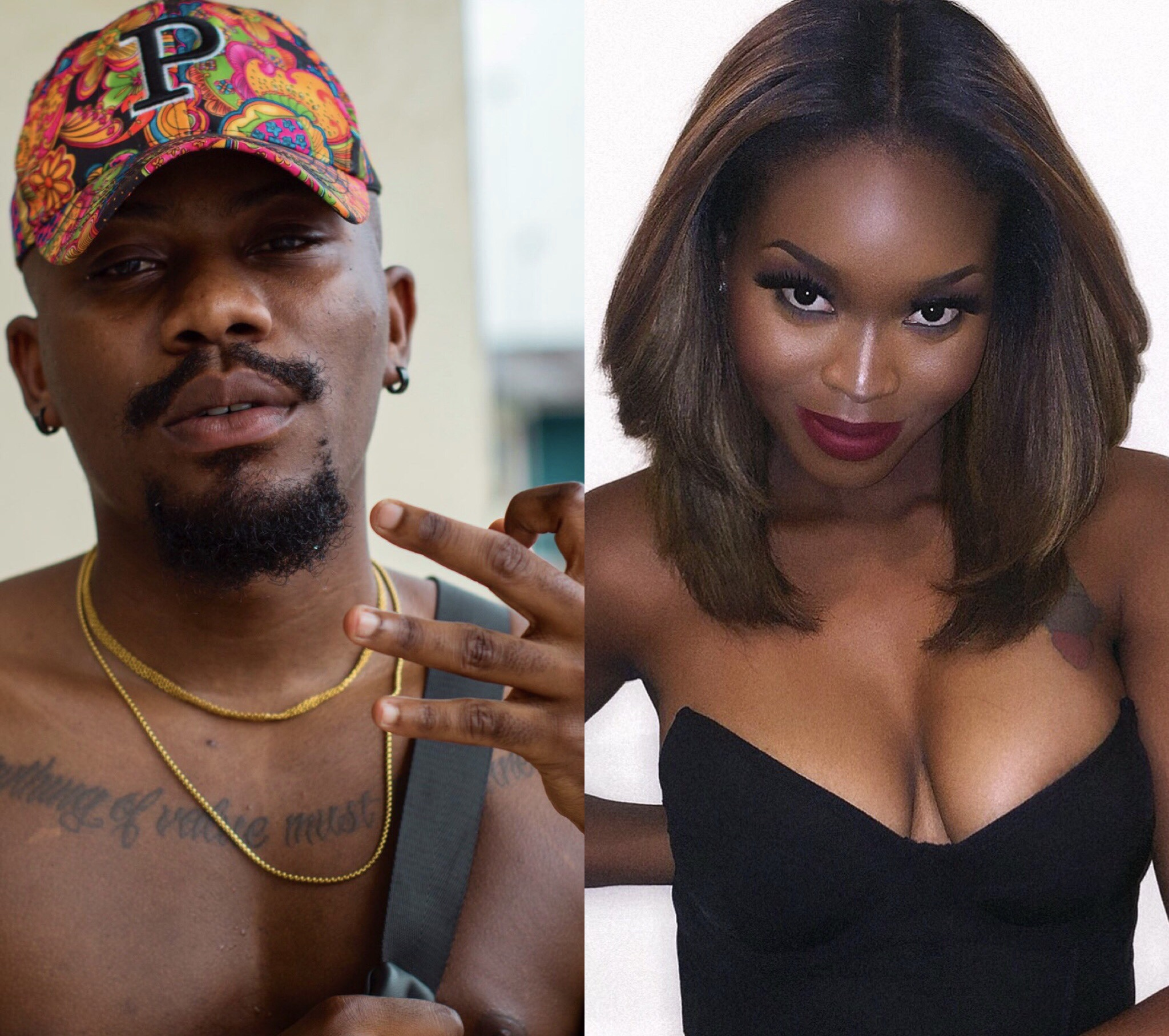 Lady shoots her shot at Ycee and he responds