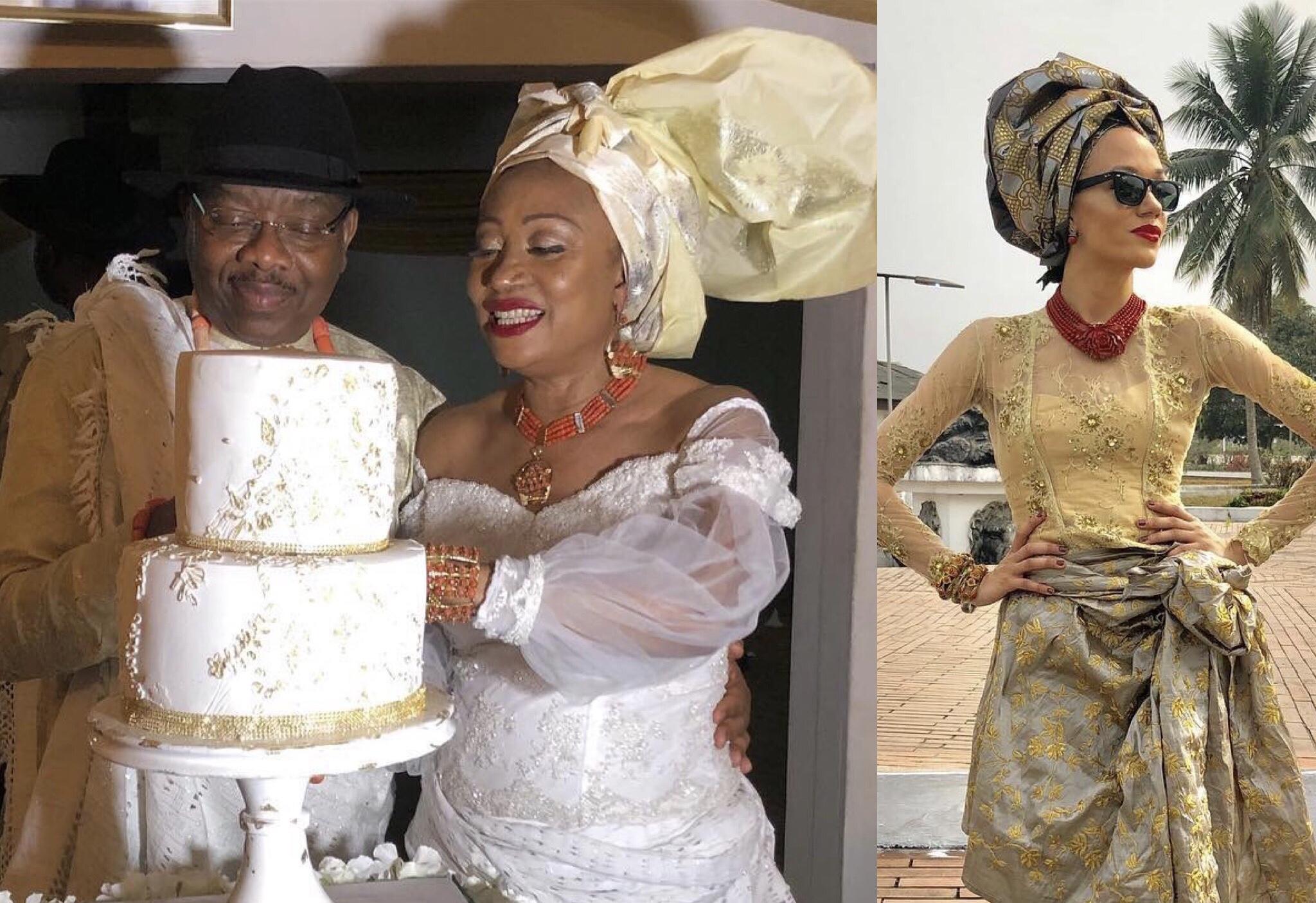 Eku Edewor celebrates her mum following 3rd marriage