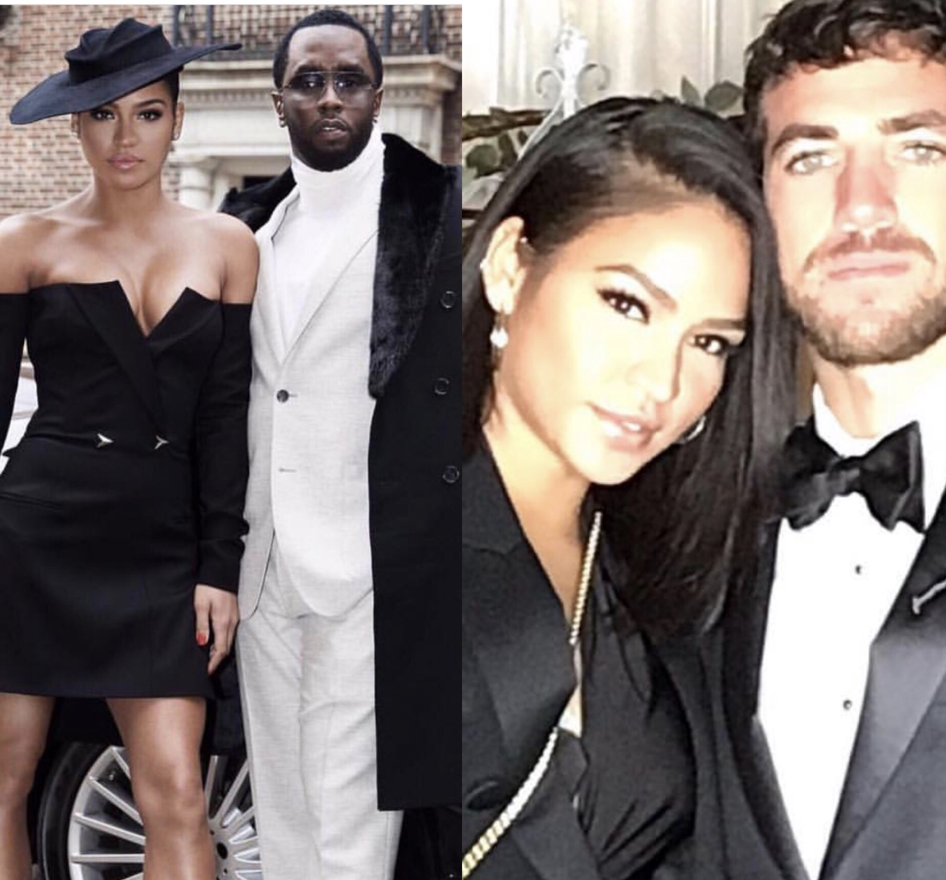 Diddy reacts to Cassie's photo with new man