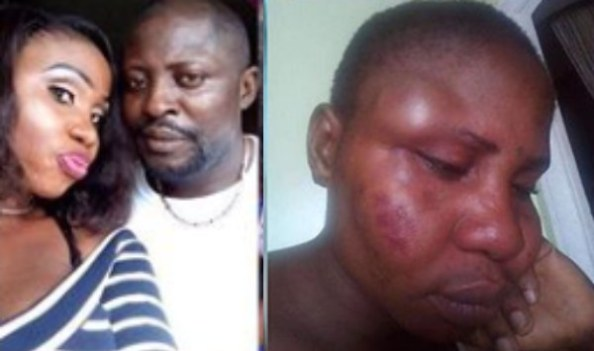Oh No! See how a man beat his wife into a pulp because of a sidechick