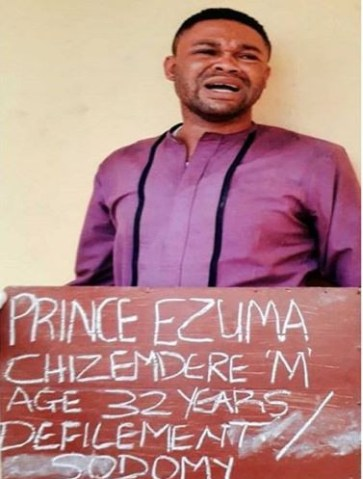 Police arrest  'gay' pastor Chizemdere Ezuma for infecting underage boys with HIV