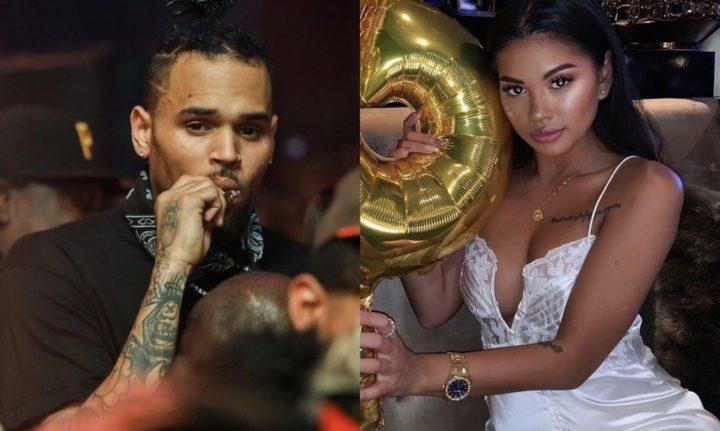 Chris Brown's girlfriend Ammika sparks pregnancy rumours