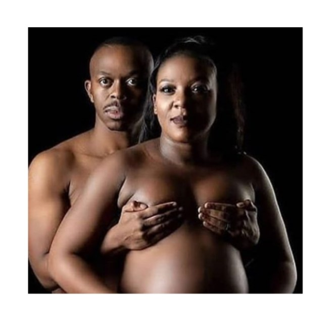 Black Couple breaks the internet with their nude pregnancy shoot