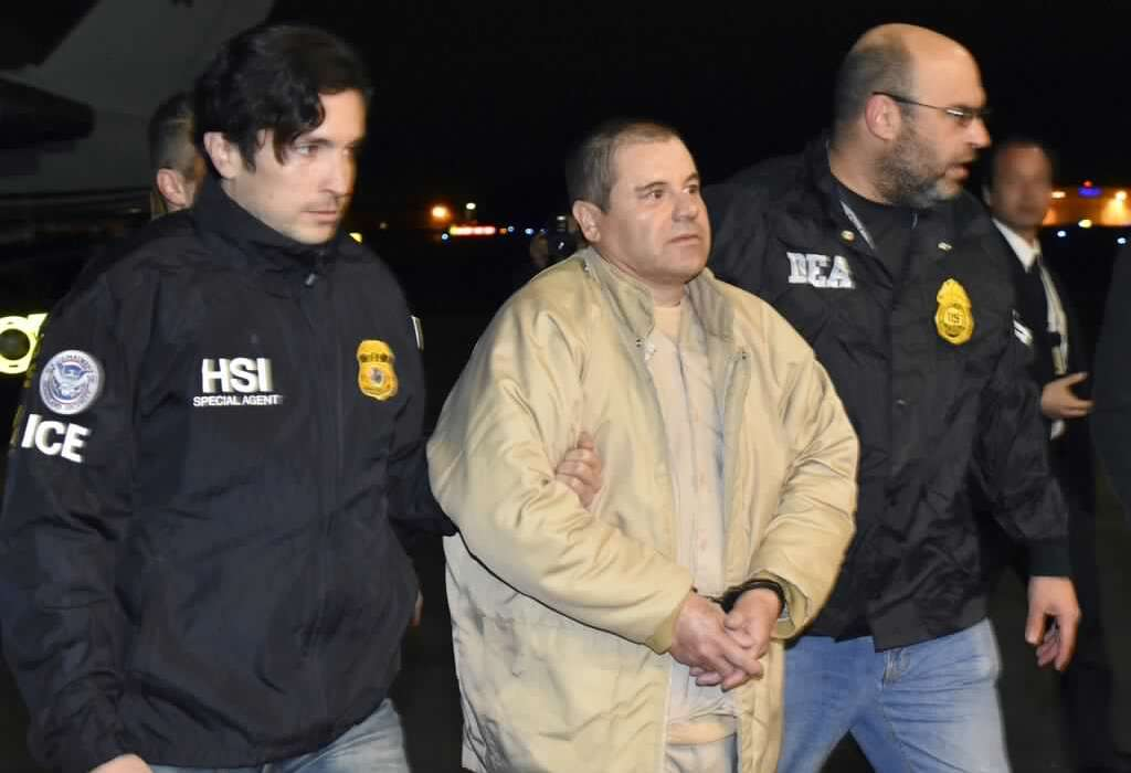Mexican Billionaire Drug Baron, El Chapo, Jailed For Life In The US (Pics)