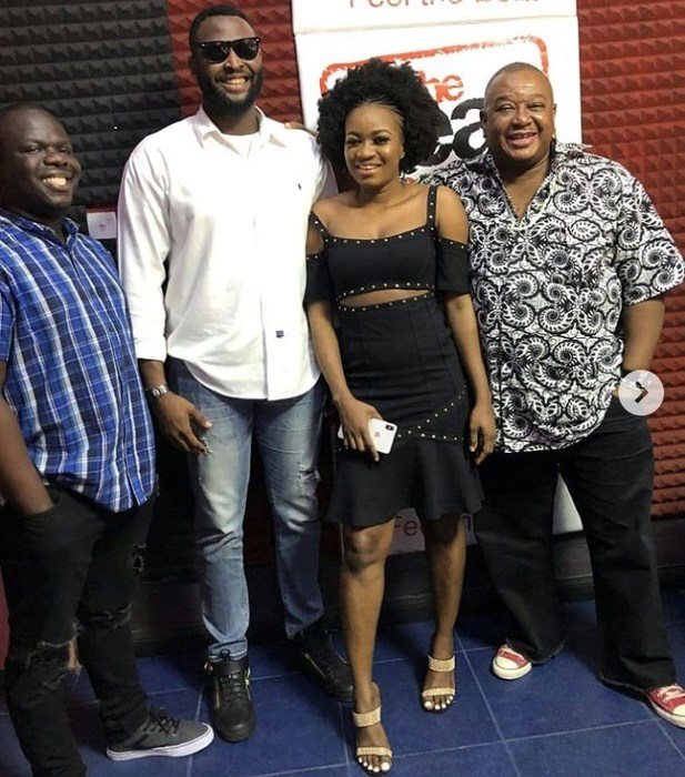 #BBNaija: Nelson And Thelma Begin Media Tour After Their Eviction (Photos)