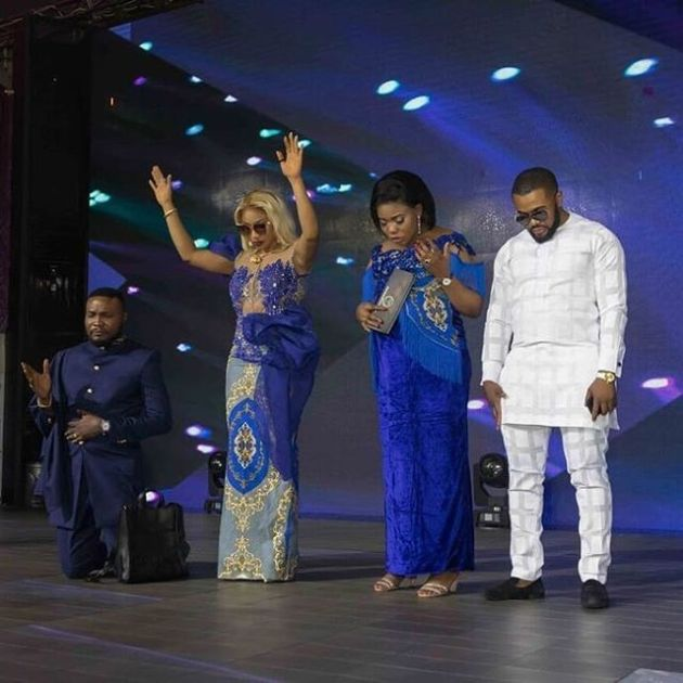 "Tonto Dikeh, Regina Daniels, Wale Jana, & ""More"" Attends COZA For Thanksgiving"