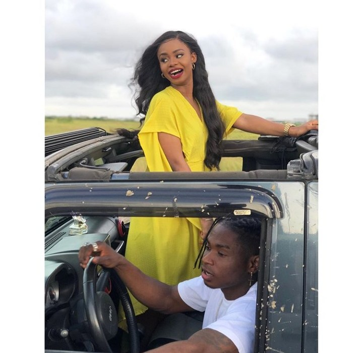 Actress Iyabo Ojo's Daughter And Lil Kesh Spotted Together In New Photos