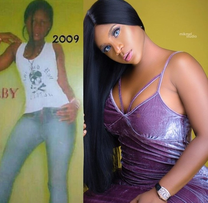 Curvy Actress, Destiny Etiko Shares Skinny Throwback Photo, Fans React