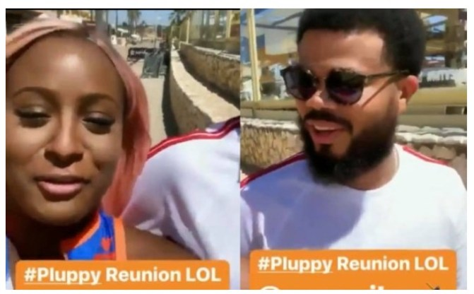 DJ Cuppy Re Unites With Ex-boyfriend Asa Asika (Video) )