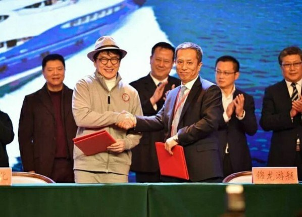 Jackie Chan's New 150-Foot Luxurious Superyacht In Pictures